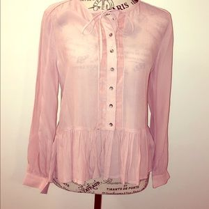 ☘️LUCKY BRAND BUTTON DOWN BLOUSE